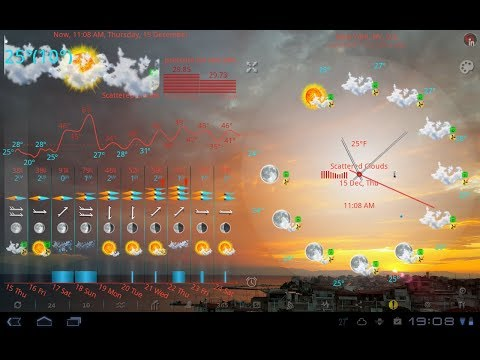 Video of eWeatherHD, NOAA Radar, Alerts