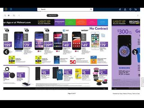 Walmart Black Friday 2018 Ad Preview