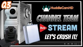 Welcome to the Q3 Live Partner Webinar. Don't forget to sign up for a Free HuddlePod Air Giveaway (Partners ONLY) at ...