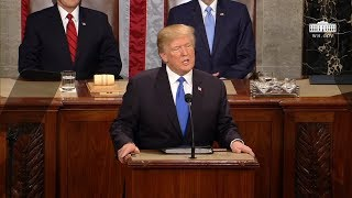 Video President Trump Delivers the State of the Union Address MP3, 3GP, MP4, WEBM, AVI, FLV April 2018