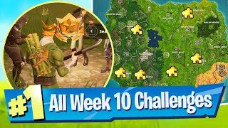 Fortnite SEASON 5 WEEK 10 Challenges Guide (Jigsaw Piece Locations)