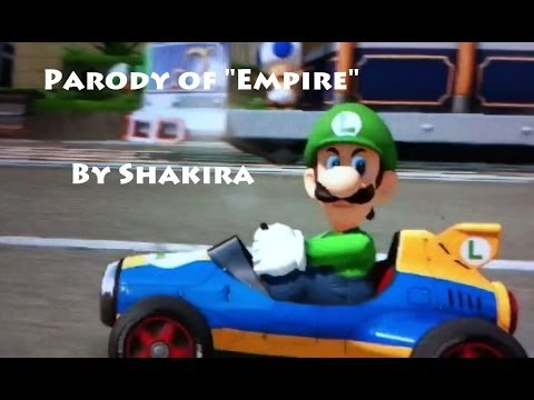 "Luigi Death Stare: Parody of ""Empire"" by Shakira"