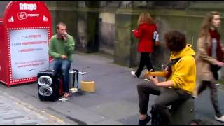 An Amazing Beatbox And Bass Jam In The Street
