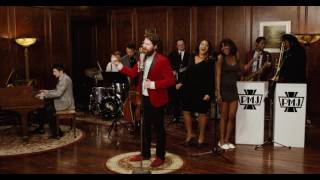 "Click to get this song on iTunes: https://smarturl.it/pmjfakebluesGet tix to see PMJ on tour worldwide: http://www.pmjtour.comGet PMJ albums & official merch: http://www.shoppmj.comValentine's Day is right around the corner, so we brought Casey Abrams and special guest Austin Creed (aka WWE superstar Xavier Woods) together to bring you  ""What Is Love,"" in the style of the Isley Brothers' 1959 hit, ""Shout.""  This one escalated quickly...The Band:Casey Abrams - lead vocals http://www.instagram.com/caseybassyhttps://www.facebook.com/iamcaseyabramshttp://www.twitter.com/caseybassyAustin Creed - tambourine & trombonehttp://www.youtube.com/upupdowndownhttp://www.twitter.com/xavierwoodsphdhttp://www.instagram.com/xavierwoodsphdMaiya Sykes - backup vocalshttp://www.instagram.com/maiyasykes1Adanna Duru - backup vocalshttp://www.instagram.com/adannaduruJacob Scesney - saxhttp://www.instagram.com/jsayswhoLemar Guillary - trombonehttp://www.instagram.com/lemarguillaryConrad Bauer - guitarAdam Kubota - basshttp://www.instagram.com/adamkubota_bassDave Tedeschi - drumshttp://www.instagram.com/davetedeschiScott Bradlee - pianohttps://www.facebook.com/scottbradleemusichttp://www.instagram.com/scottbradleehttp://www.twitter.com/scottbradleeSnap: scottbradleeGet all Postmodern Jukebox Tix here: http://www.pmjtour.comNORTH AMERICA 2017Apr 29  - Chattanooga, TNApr 30  - Asheville, NCMay 02 - Louisville, KYMay 04 - Little Rock, ARMay 05 - New Orleans, LAMay 07 - Knoxville, TNMay 08 - Charleston, SCMay 10 - Pensacola, FLMay 11 - Ft. Myers, FLMay 13 - Scranton, PAMay 14 - Morristown, NJJun  24 - Winnipeg, MBJun 27 - Rochester, NYJun 29 - Victoria, BC Jun 30 - Vancouver, BC DOUBLE FEATURE TOUR WITH SNC7/13 - Chicago, IL 7/14 - Toledo, OH 7/15 - Rochester Hills, MI 7/16 - Cleveland, OH 7/19 - Saratoga Springs, NY 7/21 - Holmdel, NJ 7/22 - Boston, MA 7/23 - Wallingford, CT 7/25 - Philadelphia, PA 7/27 - Baltimore, MD 7/28 - Raleigh, NC 7/29 - Greensboro, NC 7/30 - Charlotte, NC8/01 - Boca Raton, FL 8/02 - Jacksonville, FL 8/04 - Atlanta, GA 8/05 - Nashville, TN 8/06 - Rogers, AR 8/08 - Dallas, TX 8/09 - Houston, TX 8/11 - Phoenix, AZ 8/12 - Los Angeles, CA 8/13 - San Diego, CA 8/16 - Concord, CA10/4 - Denver, COEUROPEAN TOUR DATES 2017 13 Jul -  Kassel, Germany14 Jul -  Jena, Germany15 Jul -  Karlsruhe, Germany08 Dec - Lille, France09 Dec - Paris, France10 Dec - Paris, France 12 Dec - Clermont-Ferrand, France13 Dec - Montpellier, France 14 Dec - Bordeaux, France 16 Dec - Tours, France17 Dec - Nantes, France 18 Dec - Reims, France19 Dec - Nancy, France  AUSTRALIA &  NEW ZEALAND 201720 Sep - Perth, Australia22 Sep - Melbourne, Australia23 Sep - Brisbane, Australia24 Sep - Adelaide, Australia26 Sep - Wollongong, Australia27 Sep - Canberra, Australia28 Sep - Sydney, Australia29 Sep - Auckland, New Zealand01 Oct - Christchurch, New Zealand03 Oct - Wellington, New Zealand"