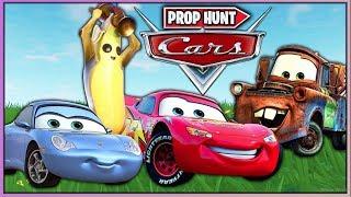 CARS EN FORTNITE *PROP HUNT* (FORTNITE MINIJUEGOS)