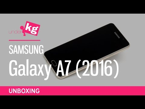 Samsung Galaxy A7 (2016) Unboxing [4K]