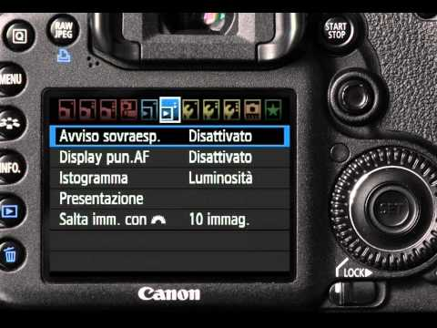 Impostazioni per video HD con Canon Eos