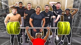 SIDEMEN STRENGTH TEST