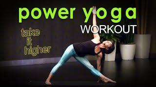 Video Sweaty Power Yoga Workout ~ Take it Higher MP3, 3GP, MP4, WEBM, AVI, FLV Maret 2018