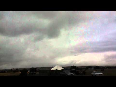An Albatross arrives at Hood Aerodrome...
