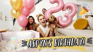ASPYN'S 23RD BIRTHDAY! LAST BIRTHDAY WITH NO BABY! by Aspyn + Parker