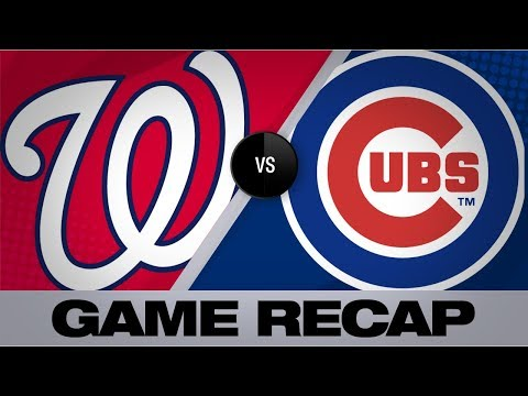 Video: Kendrick, Hudson lead Nationals past Cubs | Nationals-Cubs Game Highlights 8/25/19
