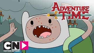 Adventure Time | Messer- und Schwerterregen | Cartoon Network