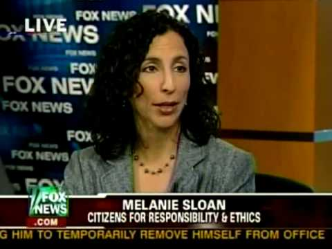 Melanie Sloan Discusses corruption in government