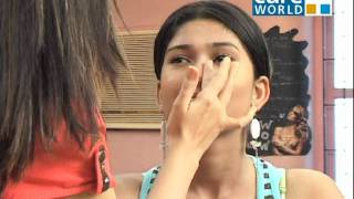 Saundarya - Beauty Tips - Make Up To Hide Pimples