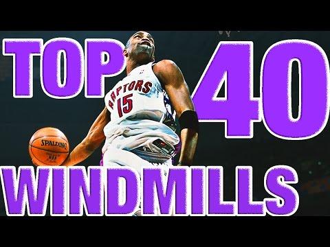 Vince Carter's BEST Windmills From The NBA Vault! Top 40 Countdown
