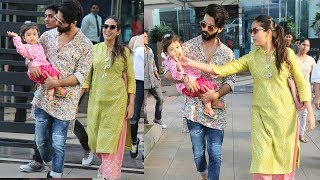 Shahid Kapoor Take Daughter Misha Out For Diwali Shopping