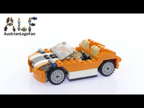 Lego Creator 31017 Sunset Speeder - Lego Speed Build Review
