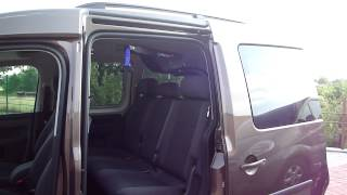 Elektrický jeřábek interiérový Harmar 001 ve voze VW Caddy