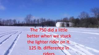 7. King Quad 750 vs Arctic Cat 1000