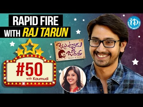 Raj Tarun's Witty Answers – #50WithKaumudi