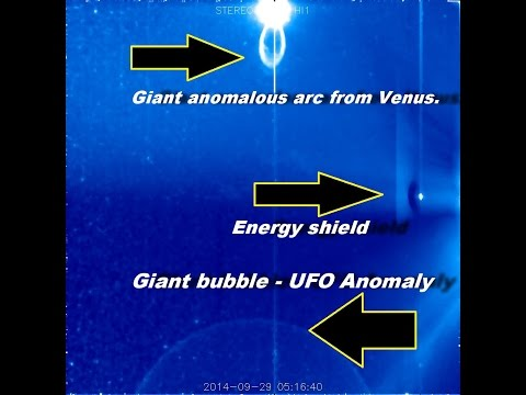 Alien Anomalies on Venus and the giant bubble – a UFO in our solar system – October 2, 2014