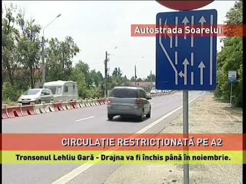 Tronsonul Lehliu Gară - Drajna va fi închis până în noiembrie