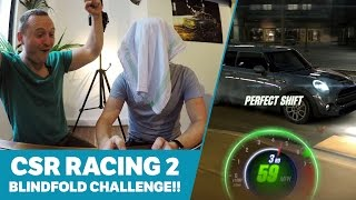 CSR Racing 2 Blindfold Challenge! by Car Throttle