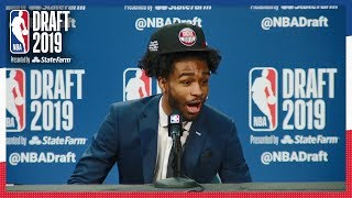 Coby White is HYPE After Cameron Johnson is Drafted! | NBA Draft 2019 by NBA