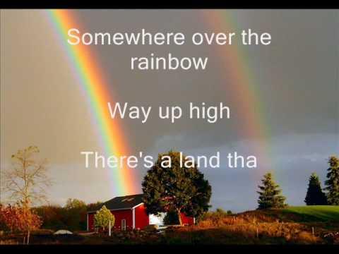 Judy Garland - Somewhere over the rainbow lyrics