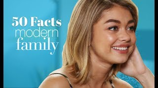 Today we list of 50 things you didn't know about Modern FamilyCheck out our site at:http://thewebnet.wixsite.com/everyshow/es-review
