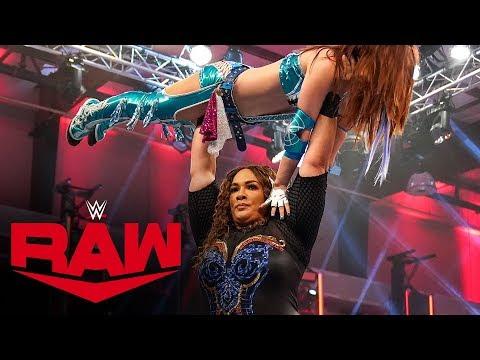 Kairi Sane vs. Nia Jax – Money in the Bank Qualifying Match: Raw, April 13, 2020