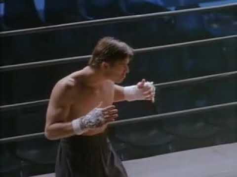 Дэвид Слоун дерется с Тонг По(Отрывок из фильма Кикбоксер: Дорога назад. Мостовой Влад) (видео)