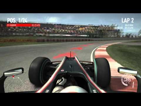 F1 2010 Game Montreal  HUN