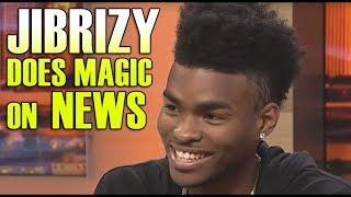 Learn a 12 Free Tricks: http://www.penguinmagic.com/jibrizyMagician Jibrizy does the best magic trick ever seen vanishing a card into the Fox Chicago News Reports hand! The was absolutely amazed priceless reaction!My Website: http://www.jibrizy.comFollow me on Instagram: https://www.instagram.com/jibrizyLike my Facebook Fan Page:https://www.facebook.com/JibrizySnapChat: Username: JibrizyBusiness inquires Email: Jibrizy@Jibrizy.com