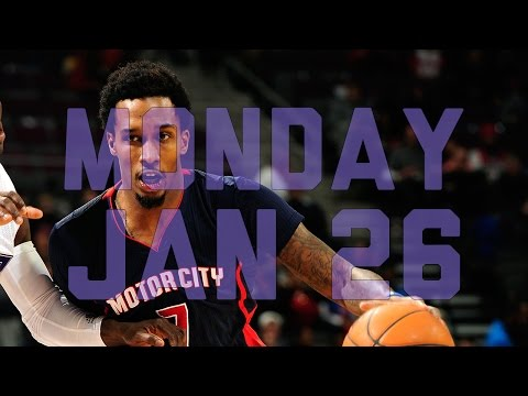 Video: NBA Daily Show: Jan. 26 – The Starters