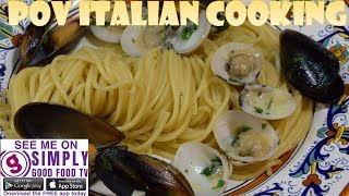 Creamy Pasta with Mussels & Clam: POV Italian Cooking Episode 60 by POV Italian Cooking