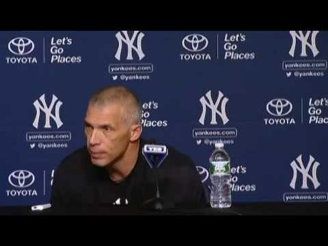 Video: Joe Girardi on Jacoby Ellsbury's injury and win over the Blue Jays