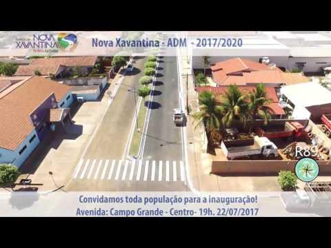 Inauguração da Avenida Campo Grande
