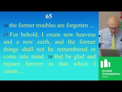 Bible Quotes - A new heaven and a new earth