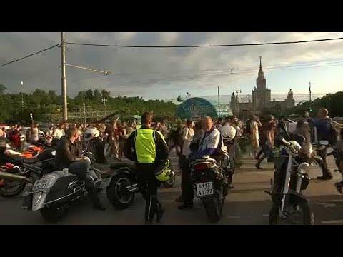 Μόσχα: Διαμαρτυρία φοιτητών για τη fan zone του Μουντιάλ