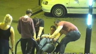 Drunk Hooligans Aren't All Bad! Watch Some Fix This Bike Rack.