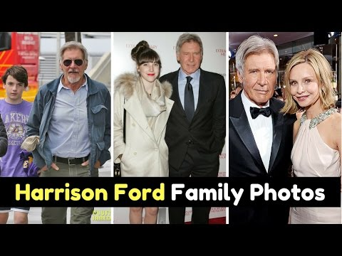 Actor Harrison Ford Family Photos with Wife Calista Flockhart, Daughter Georgia Ford, Sons, Sibling