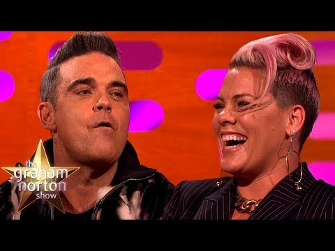 Pink Confused Robbie Williams With a Chef | The Graham Norton Show