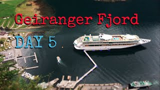 Geiranger Norway  city images : LEGENDary Voyage Day 5: Geiranger Fjord (Royal Caribbean Norwegian Cruise)