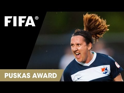 lisa - The diminutive Australian forward went heels over head to score a wicked bicycle kick from a cheeky assist by Sky Blues team-mate Katy Freels in the NWSL aga...
