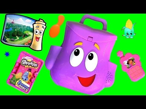 toys - This is Dora Talking Backpack from her Nickelodeon cartoon Dora the Explorer presented by DisneyCollector. Grab your school backpack and join Dora for a day of exploring with her Talking Backpack.