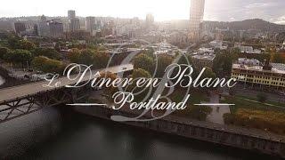Le Diner en Blanc Portland 2015