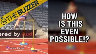 This guy jumps some really, really high hurdles like it's nothing, makes our quads burn by @The Buzzer
