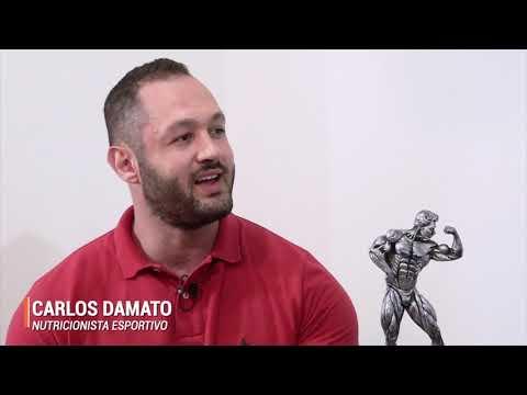 Suplementos, hipertrofia, emagrecimento e fisiculturismo com o nutricionista Carlos Damato